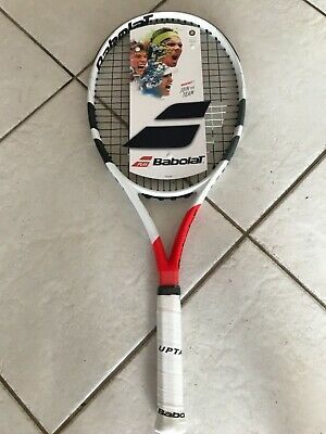 New Babolat Boost S Strung Tennis Racquet 4 1/4 Grip Brand New Never Used