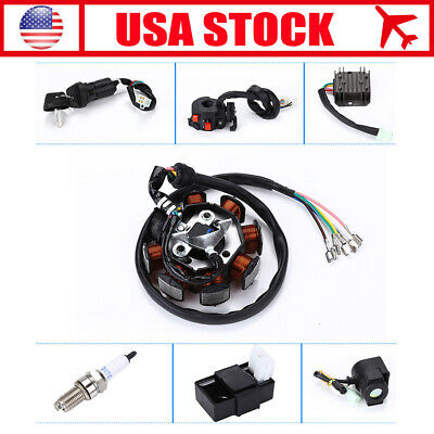 Electrics Wiring Harness Wire Loom Assembly For Motorcycle Quad Bike Stator CDI