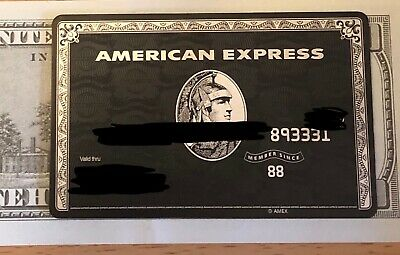 American Express Centurion Black Card