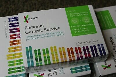 NEW 23andMe DNA Test Ancestry + Health or Ancestry Kit (FREE SHIPPING)