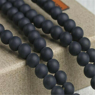 """6 mm frosted agate Loose bead Making Jewelry 1PCS 15"""" Strand ELEMENTS Lots"""