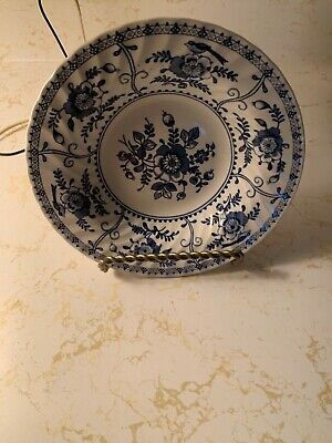 Johnson Brothers Indies Blue Rimmed Soup Bowl