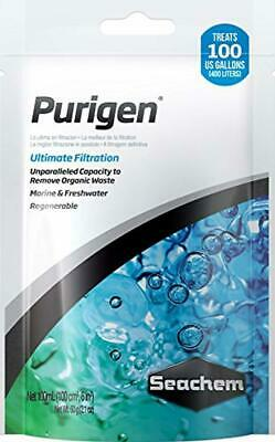 Water System Filtration Seachem Purigen 100ml Removes Soluble Impurities +