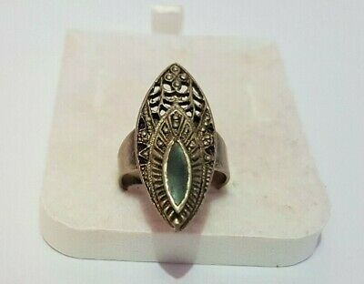Rare ancient bronze ring viking artifact silver color ring authentic