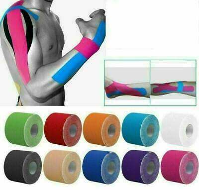 5m Sports Kinesiology Tape Elastic Physio Muscle Tape PRO Pain Relief Support