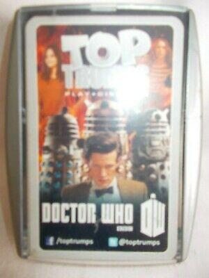 Dr Who - Top Trumps Pack 6 - Card Game In Special Case - Collectable