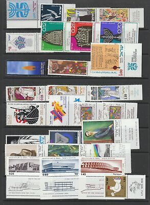 Israel MNH collection with Tabs, 148 stamps