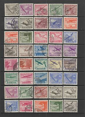 Chile Airmails collection, MH or used , 49 stamps