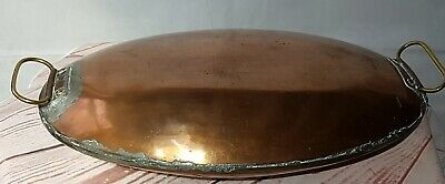 Antique Copper Oval Foot Warmer