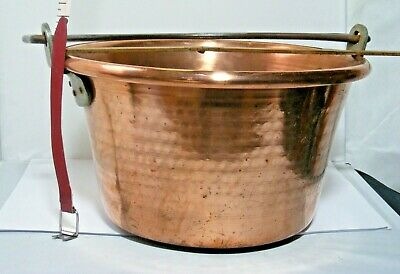 Antique Large Copper Jam Pan