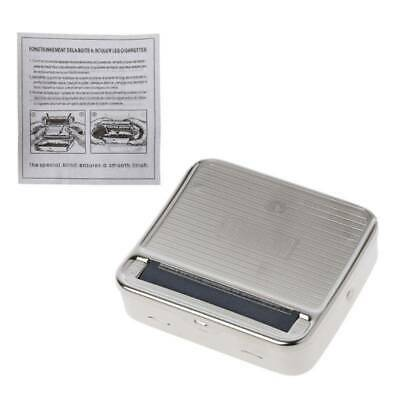 New 70mm Metal Automatic Cigarette Tobacco Rolling Smoking Machine Roller Box