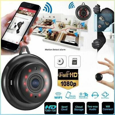 UK Mini Wireless WIFI IP Camera HD 1080P Smart Home Security Camera Night Vision