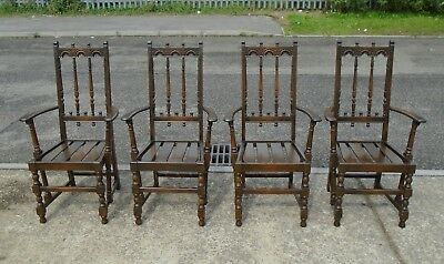 Set Of 4 Vintage Ercol Carver Chairs     Delivery Available