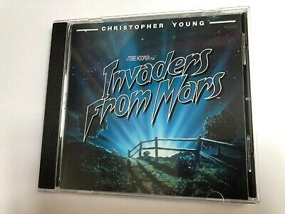 INVADERS FROM MARS / OASIS (Christopher Young) OOP Soundtrack Score OST CD NM