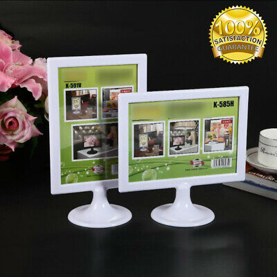 New B6 Display Frame Stand Sign Holder Poster Frame For Counter Top Sale Sign