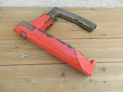 Adjustable Caravan Trailer Etc. Security Wheel Clamp ~ Free UK Post
