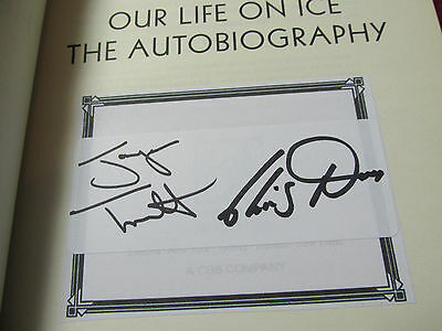 Jayne Torvill And Christopher Dean Hand Signed Book 'Our Life On Ice'