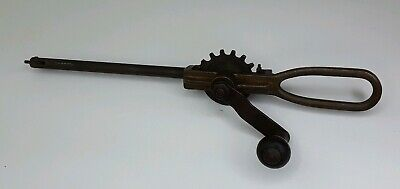Antique Vintage Brass Unmarked Valve Lapper Lapping Tool - Engine -