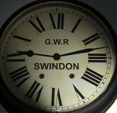 Great Western Railway, GWR Victorian Style Waiting Room Clock, Swindon Station.