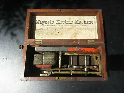 Antike Magneto Electric Machine