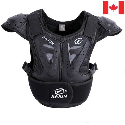 JIAJUN Youth Child Body Chest & Spine Protector Armor Dirt Bike Bicycle Skiing