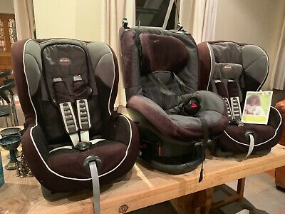 All 3 For €100 !! Child Car Seat Support Baby Toddler 9-18Kg
