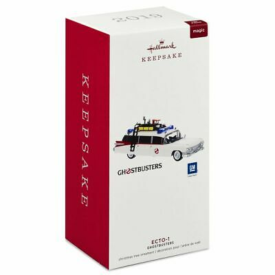 2019 Hallmark Ornament Ghostbusters Ecto-1 Ecto One Light and Sound