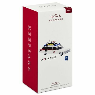 Ecto-1 Ecto One 2019 Hallmark Ornament Ghostbusters  Light and Sound