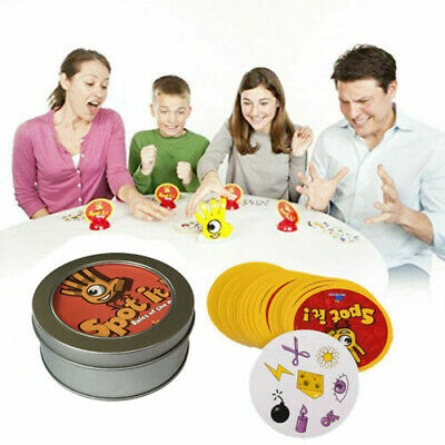 Spot It Find It Board Card Game For Kids Family Gathering Xmas Birthday Party