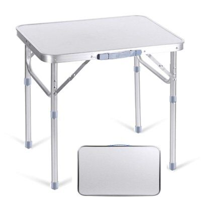 2ft Folding Table Heavy Duty Trestle Camping Party Picnic BBQ 7S