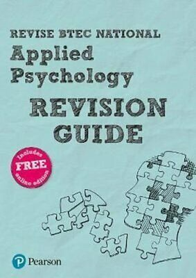Revise BTEC National Applied Psychology Revision Guide 9781292272719   Brand New