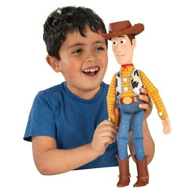 Toy Story Pull String Playtime Interactive Talking Sheriff Woody Over 25 Sayings