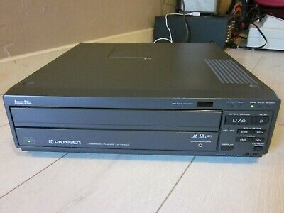 Pioneer LD-V4400 Laser Disc Player Tested and Working