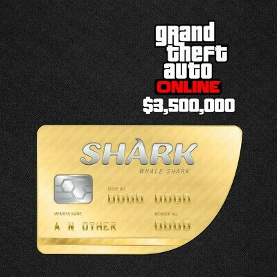 GRAND THEFT AUTO Online: Whale Shark Cash Card $250,0000 PS4