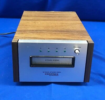 Vintage Pioneer Centrex 8 Track Stereo Deck TH-30