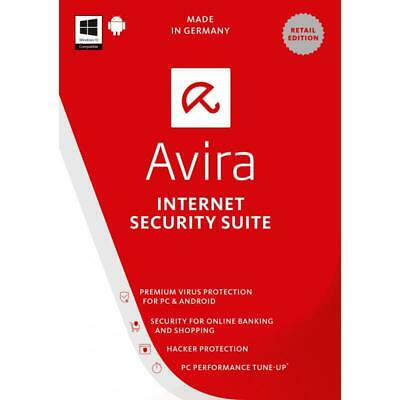 Avira Internet Security Suite 1 Device 1 Year Key GLOBAL 2019