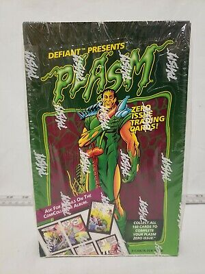 Defiant Presents Plasm Trading Cards Booster Box Set 36 Packs 9 Per Pack SEALED