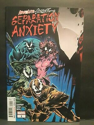 Marvel Comics Absolute Carnage Separation Anxiety #1 Reg cover tie-in