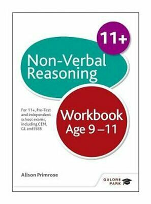 Non-Verbal Reasoning Workbook Age 9-11 For 11+, pre-test and in... 9781471849350