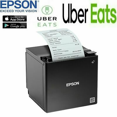 POS Printer Epson TM-M30 Bluetooth printer USB/ETH/BT IOS BLACK