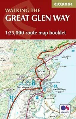 The Great Glen Way Map Booklet 1:25,000 OS Route Mapping 9781852848958