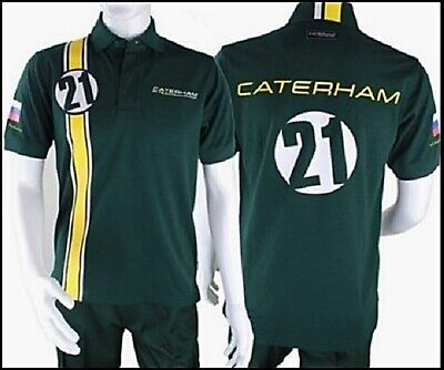 POLO Poloshirt Adult Formula One 1 Caterham F1 Team NEW! Vitaly Petrov XS