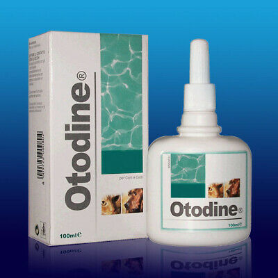 Otodine Ear Cleaning Solution Removes Excess Wax Cats & Dogs 100ml Chlorhexidine