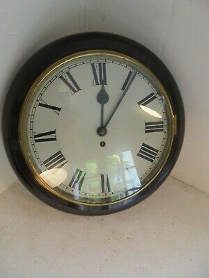 Vintage Station Clock , School Clock , wall Clock