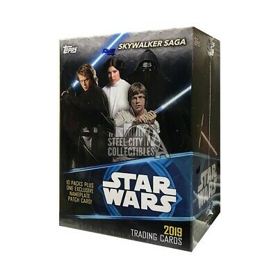 2019 Topps Star Wars: Skywalker Saga 10ct Blaster Box