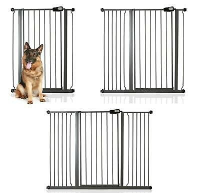 Premium Child and Pet Pressure Fit Extra Tall Dog Gate by Safetots