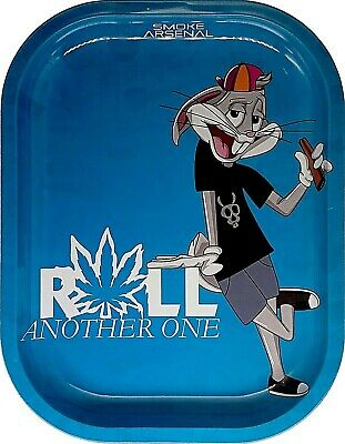 "Smoke Arsenal Premium Rolling Tray ""Roll It-S103 "" 5.5"" x 7"""