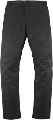 Overlord Textile Pants - Black Men's Small Icon 2821-1046