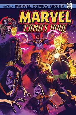 Marvel Comics #1000 Comic Book [Greg Smallwood 1970's Variant Cover]