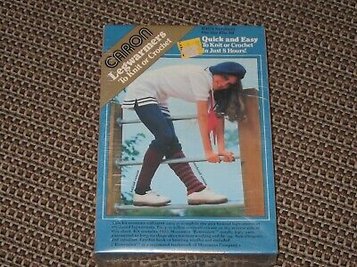 Legwarmers - to knit or crochet - vintage kit